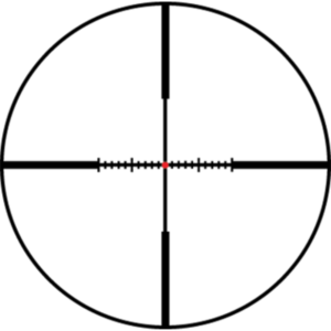Leupold's Firedot Wind-Plex Minute of Angle Reticle